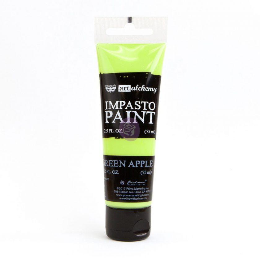 Art Alchemy - Impasto Paint - Green Apple 2.5 oz