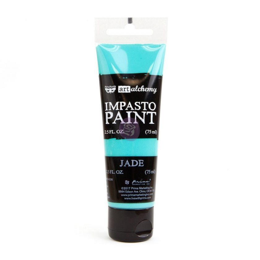 Art Alchemy - Impasto Paint - Jade 2.5 oz