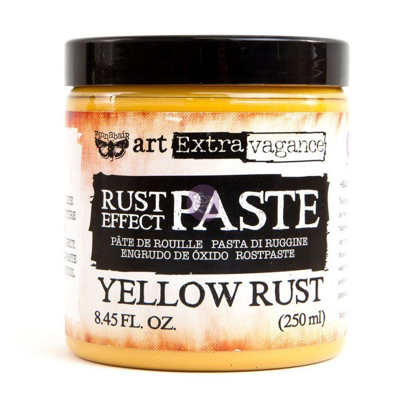 Art Extravagance - Rust Paste - Yellow 8.45oz (250ml)