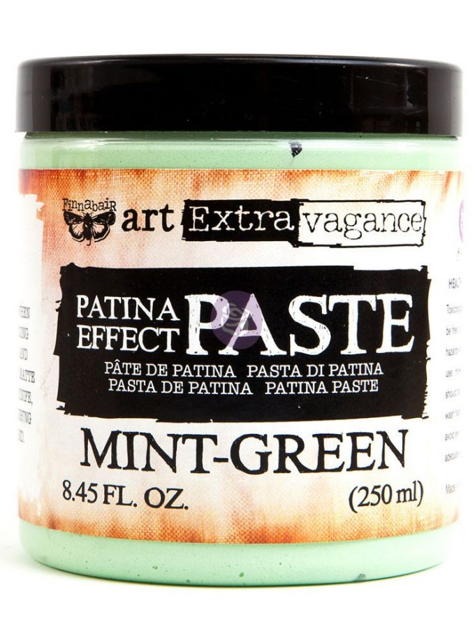 Art Extravagance - Patina Paste - Mint Green 8.45oz (250ml)