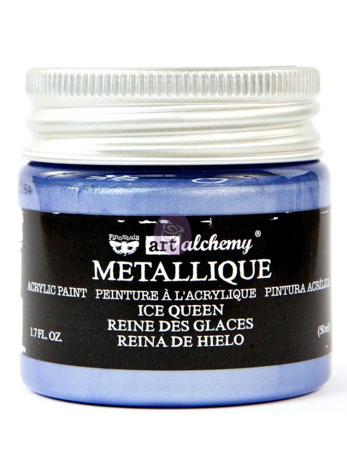 Art Alchemy Metallique Acrylic Paint - Ice Queen