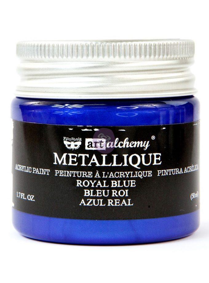 Art Alchemy Metallique Acrylic Paint - Royal Blue