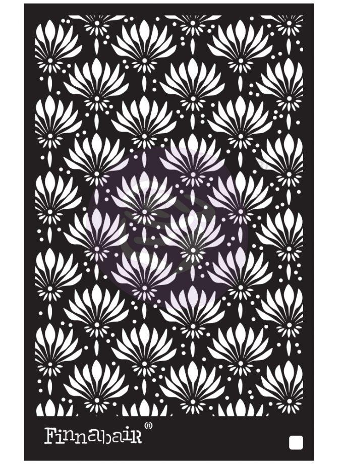 "6x9 Stencil - Dandelions - 6"" x 9"""