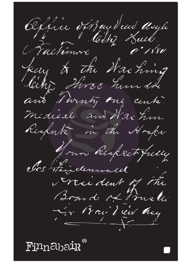 """6x9 Stencil - Read My Letter - 6"""" x 9"""""""