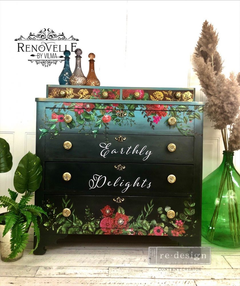 """Redesign Decor Transfers® - Earthly Delights 35""""x48"""""""