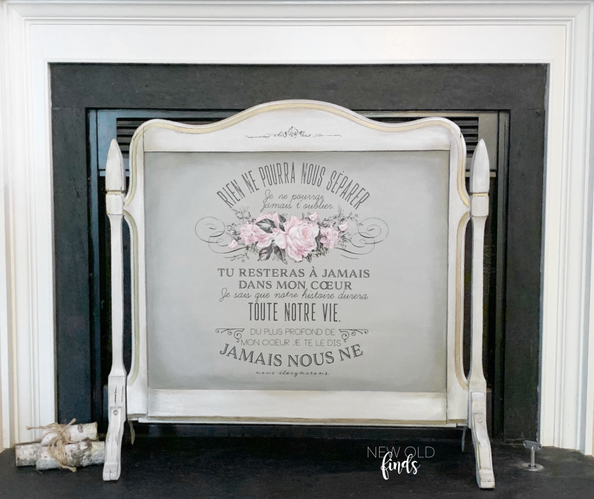 """Redesign Decor Transfers® - My Heart - total sheet size 24""""x35"""", cut into 3 sheets"""