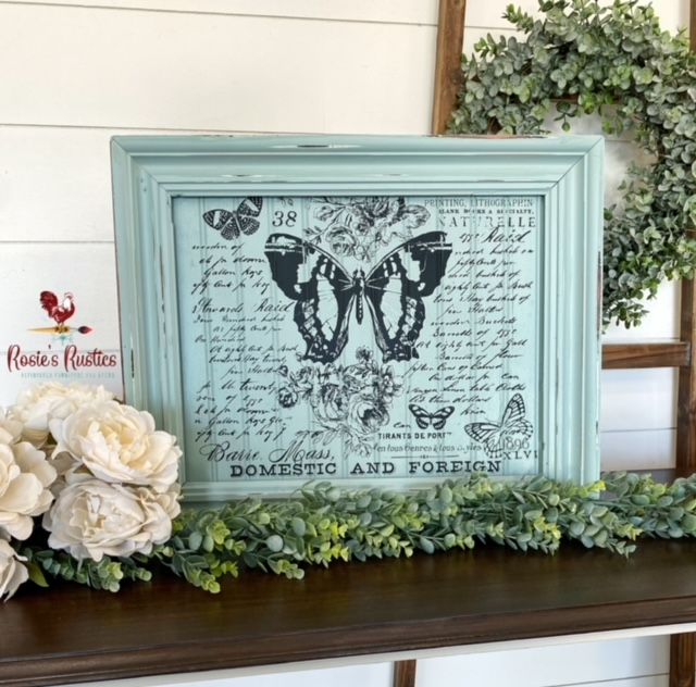 """Maisie & Willow Transfers® - Butterfly Botanic - 3 sheets, total design size 16""""x23"""""""