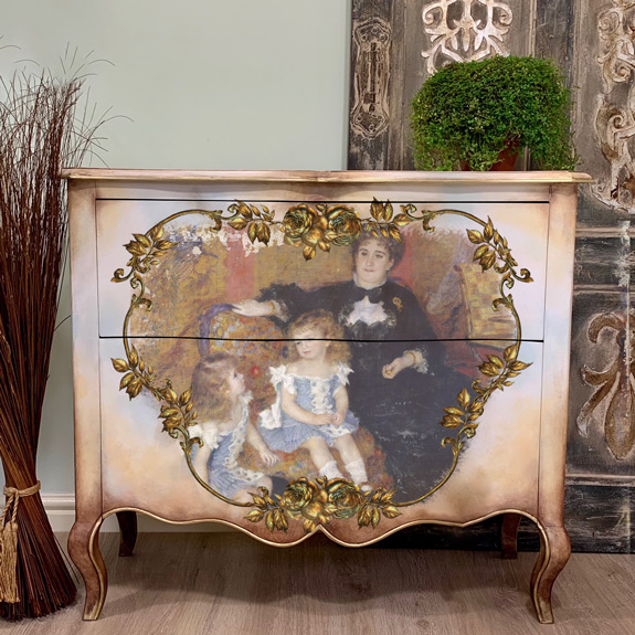 """Redesign A1 Decoupage Rice Paper (Mulberry Tissue Paper) - Family Moment 23.4""""X33.1"""""""