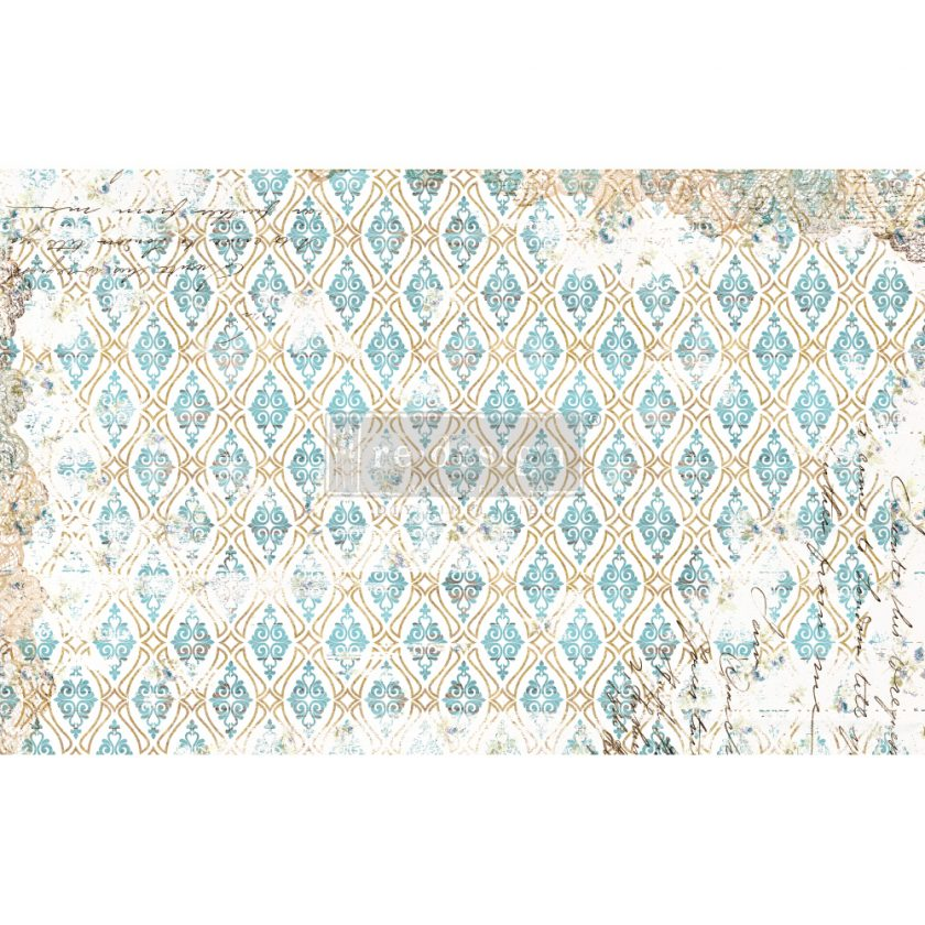 "Redesign Decoupage Décor Tissue Paper - Distressed Deco - 1 sheet, 19""x30"""