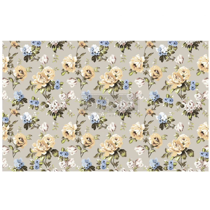 "Redesign Decoupage Décor Tissue Paper - Marigold - 1 sheet, 19""x30"""