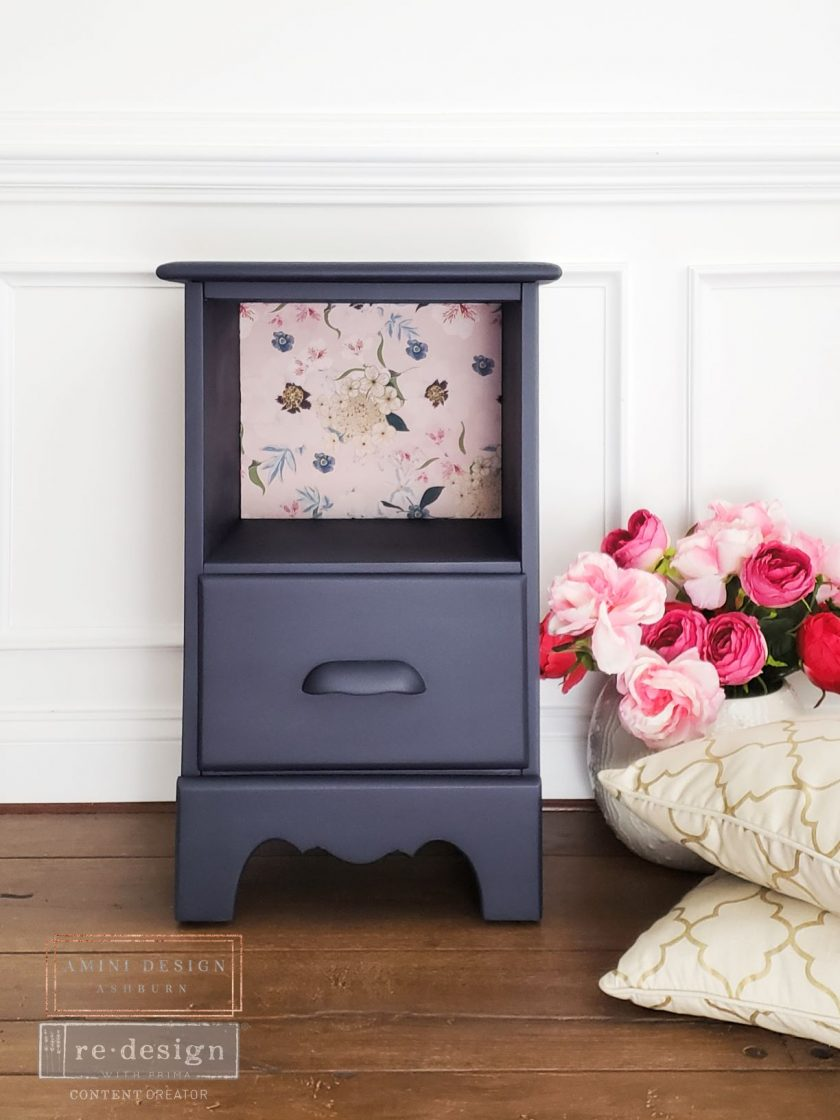 "Redesign Decoupage Décor Tissue Paper - Blush Floral - 1 sheet, 19""x30"""
