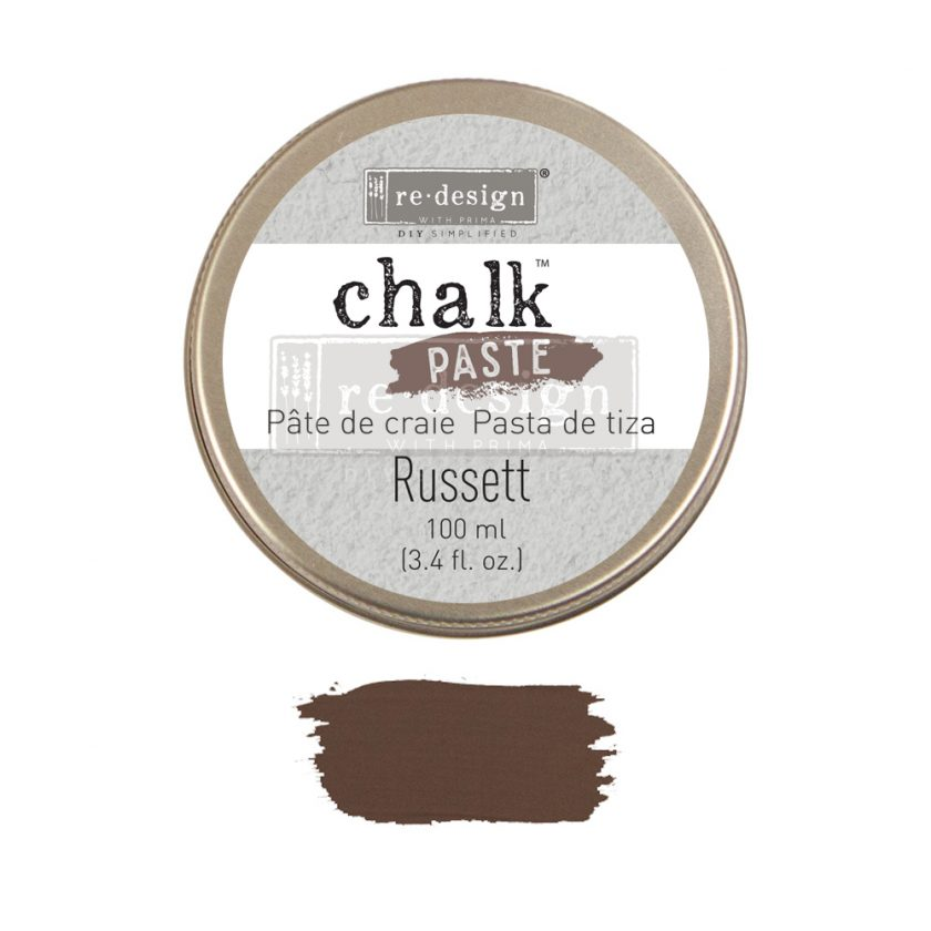 Redesign Chalk Paste - Russett - 1 jar, 100 ml (3.4 fl oz)