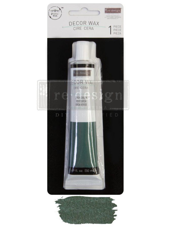 Redesign Wax Paste - Ursa Green - 1 tube, 50ml