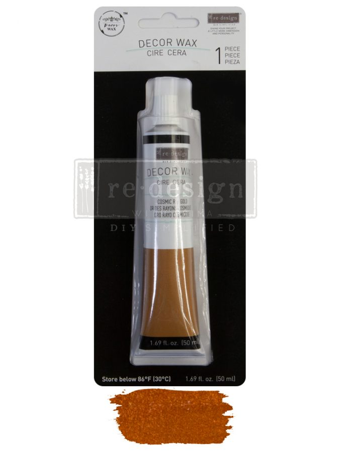 Redesign Wax Paste - Cosmic Ray Gold - 1 tube, 50ml