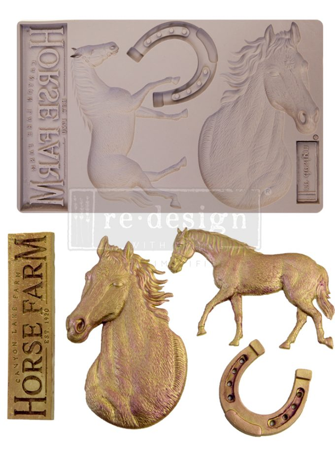 """Redesign Decor Moulds® - Majesty Beauty - 1 pc, 5""""x8"""", 8mm thickness"""
