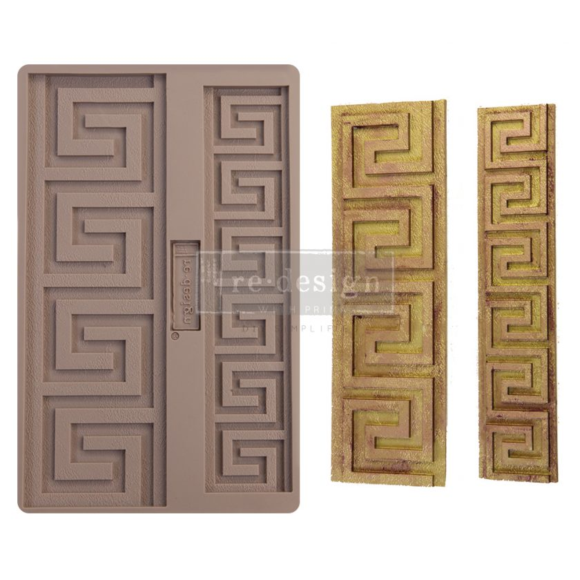 """Redesign Decor Moulds® - Italian Borders - 1 pc, 5""""x8"""", 8mm thickness"""