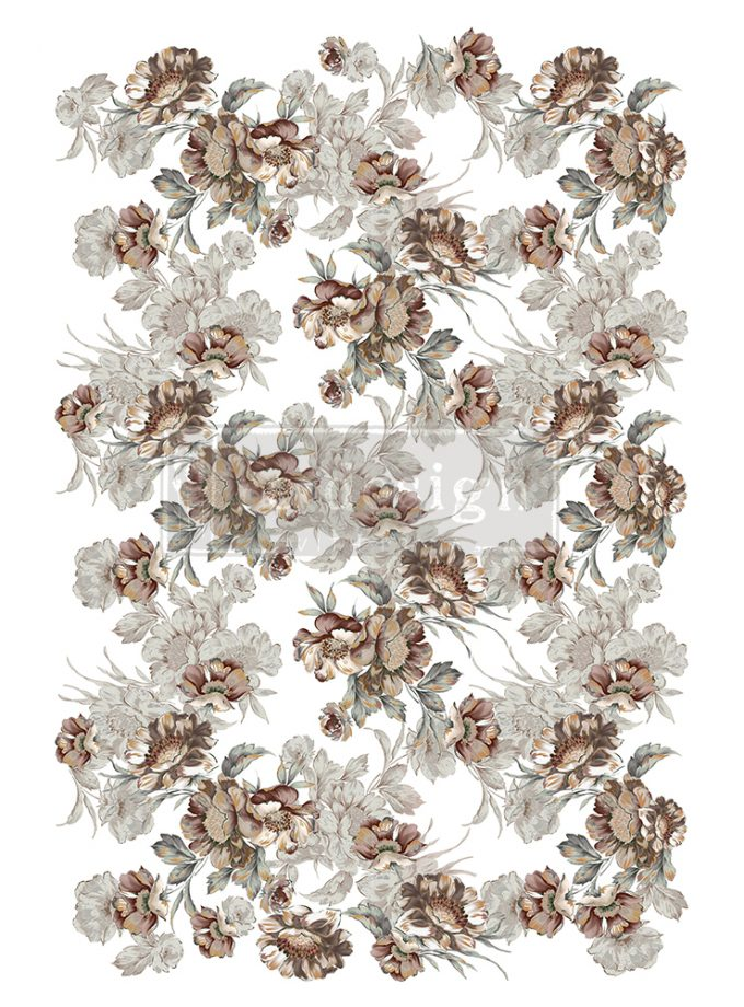 """Redesign Decor Transfers® - Natural Splendor - Total sheet size 24""""x35"""", cut into 2 sheets"""