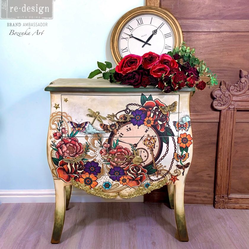 """Redesign Decor Transfers® - CECE Inked Flash - Total sheet size 24""""x35"""", cut into 2 sheets"""