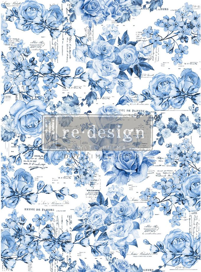 Decor Transfers® - French Ceramics - 3 sheets - total design size 24x35