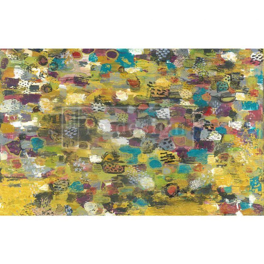 "Decoupage Decor Tissue Paper - Abstract Dream - 1 sheet, 19""x30"""