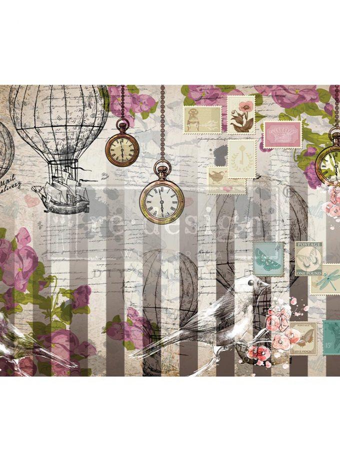 """Decoupage Decor Tissue Paper - Love Letters - 1 sheet, 19""""x30"""""""