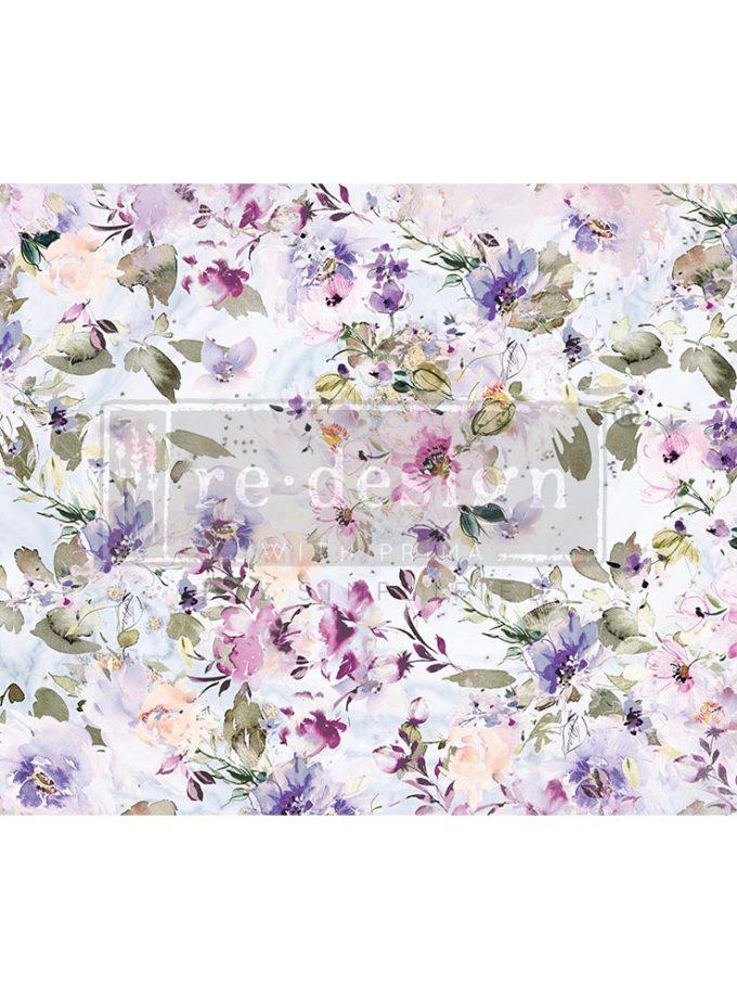 "Decoupage Decor Tissue Paper - Amethyst Dance - 1 sheet, 19""x30"""