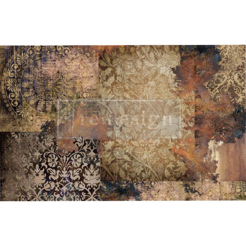 "Decoupage Decor Tissue Paper - Gothic Rhapsody - 1 sheet, 19""x30"""