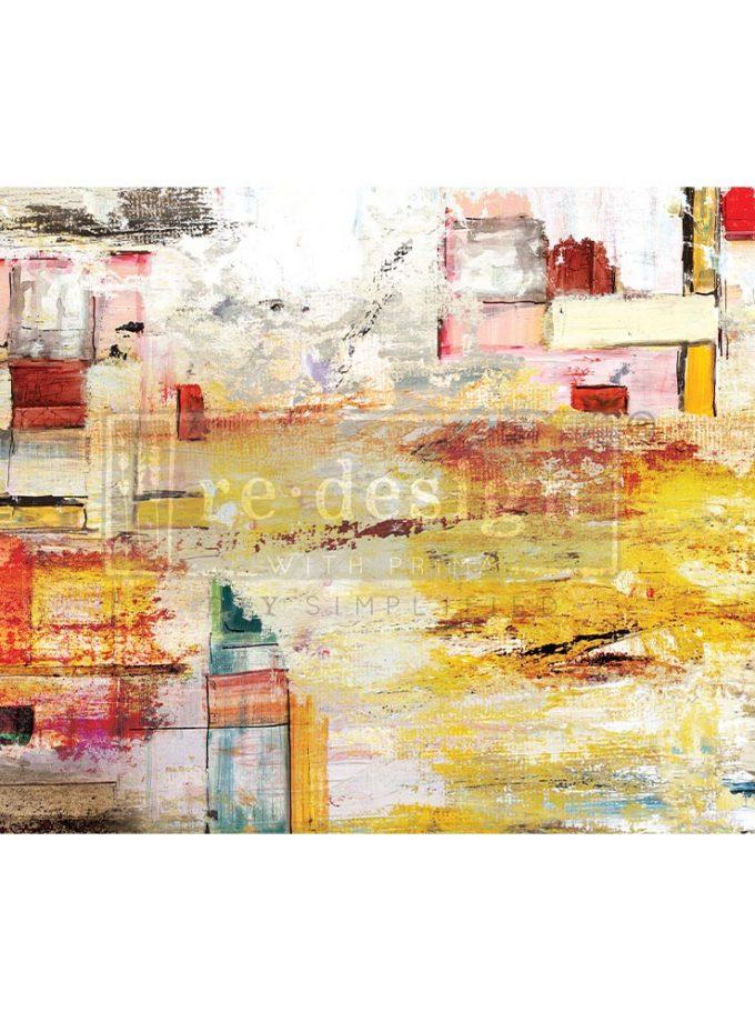 "Decoupage Decor Tissue Paper - Amber Euphoria - 1 sheet, 19""x30"""