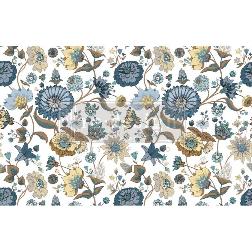 "Decoupage Decor Tissue Paper - Garden Waltz - 1 sheet, 19""x30"""
