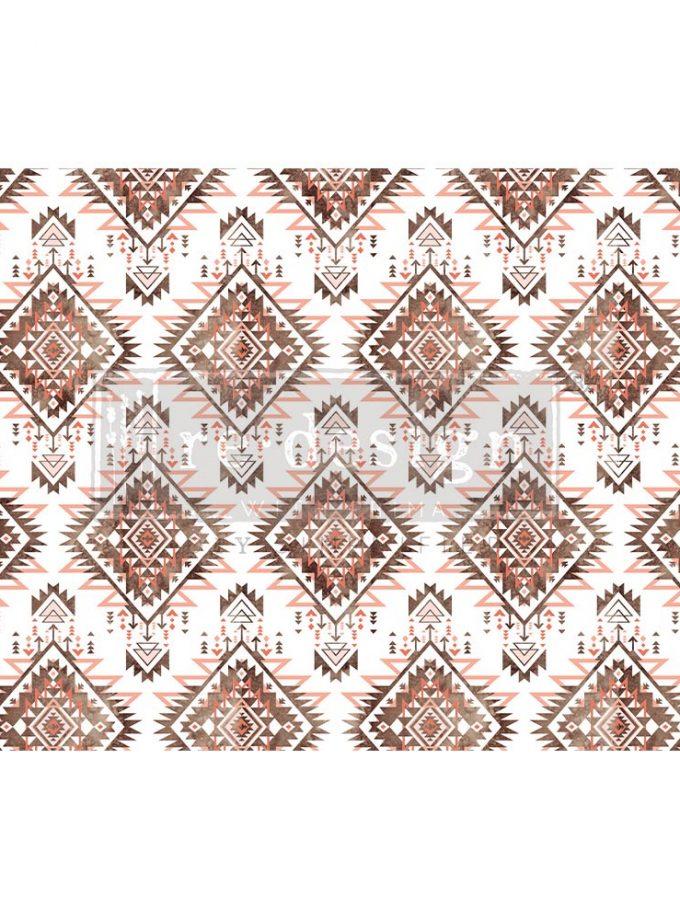"Decoupage Decor Tissue Paper - Linear Splendor - 1 sheet, 19""x30"""