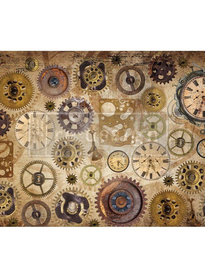 "Decoupage Decor Tissue Paper - Timeworks - 1 sheet, 19""x30"""