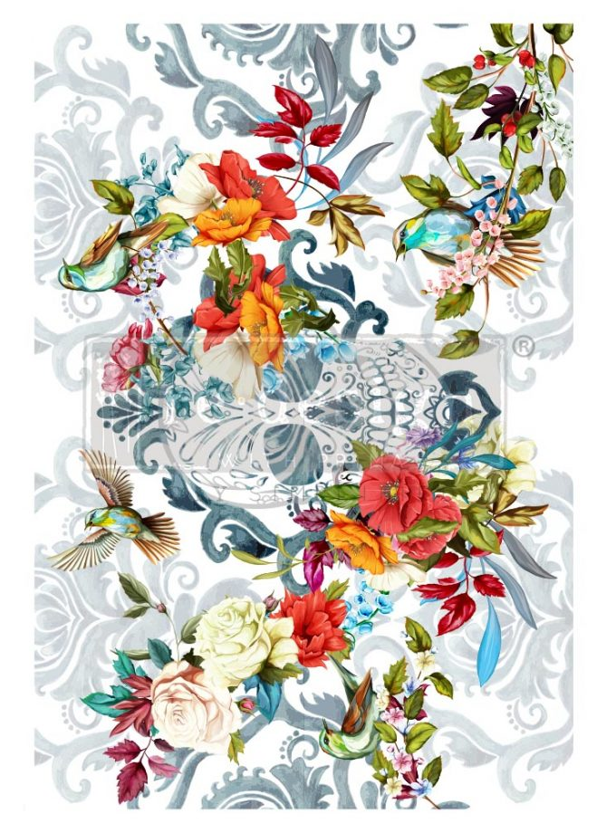 """Decor Transfers® CeCe - Sweet Dreaming - total sheet size 24""""x35"""", cut into 2 sheets"""