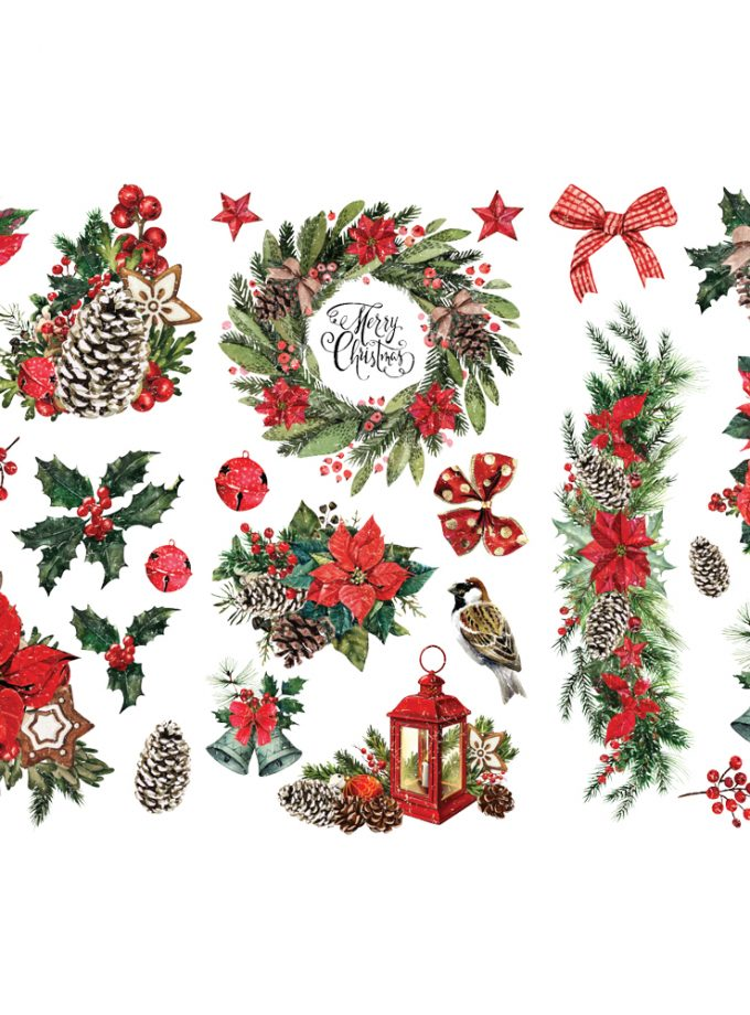 "Decor Transfers® - Classic Christmas - 3 sheets, 6""x12"""