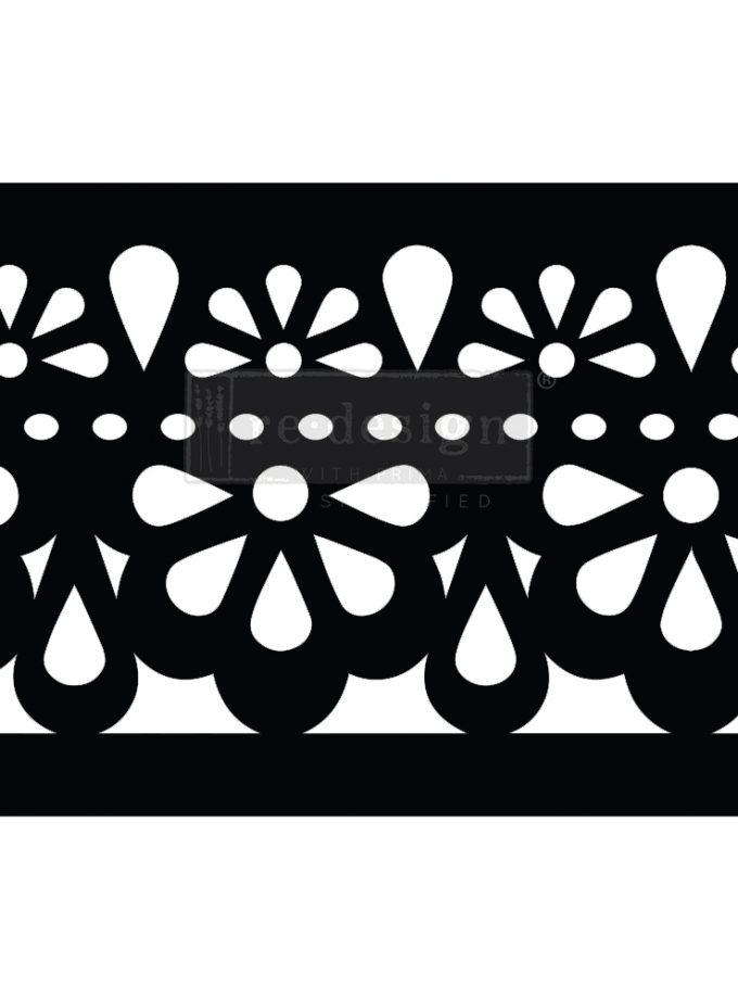 "Stick & Style CECE - Classic Lace - 1 roll, 7"" x 5yds (6"" design)"