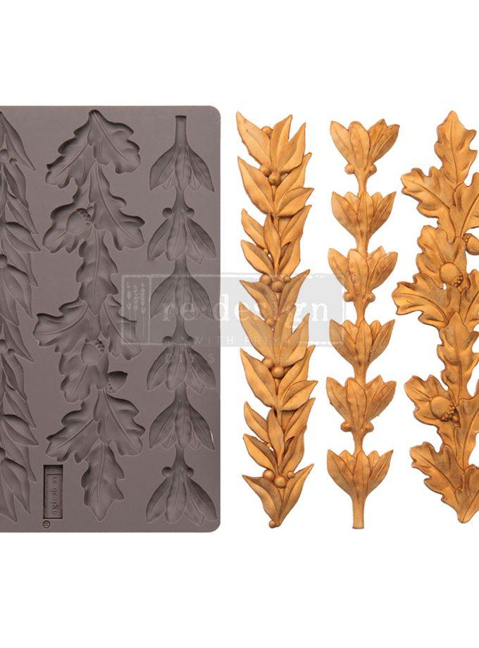 """Decor Mould - Louelle Borders - 1 pc, 5""""x8""""x8mm"""