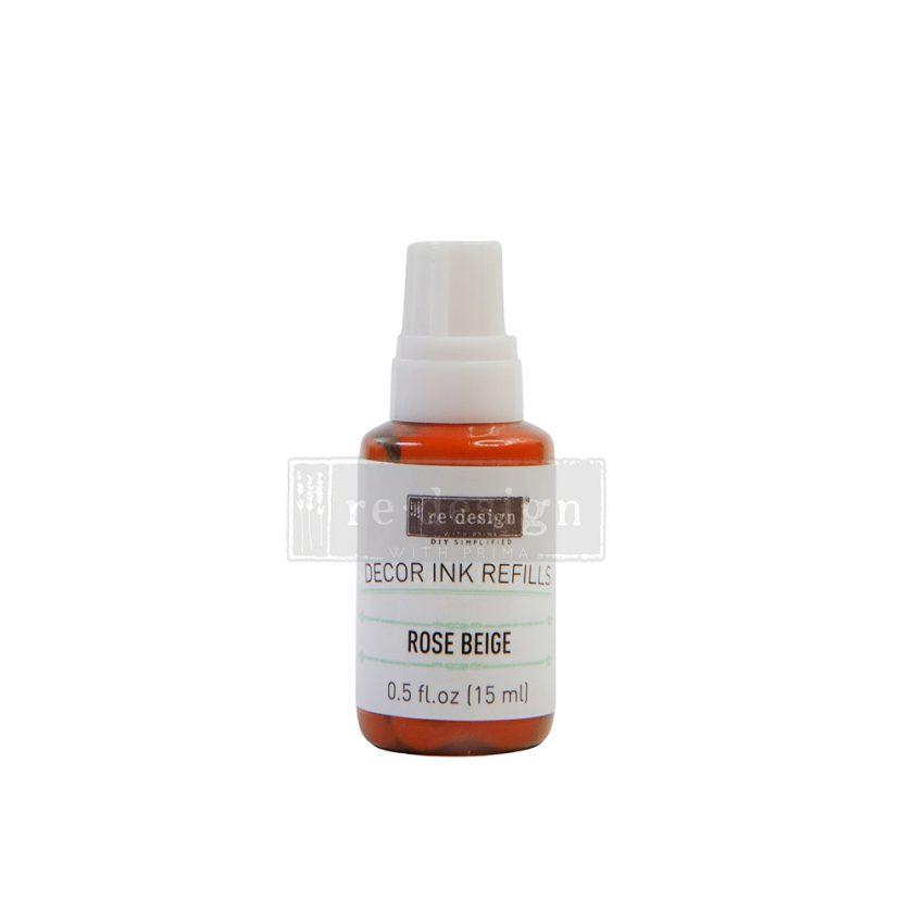 Decor Ink Refill  - Rose Beige - 1 bottle, 15ml