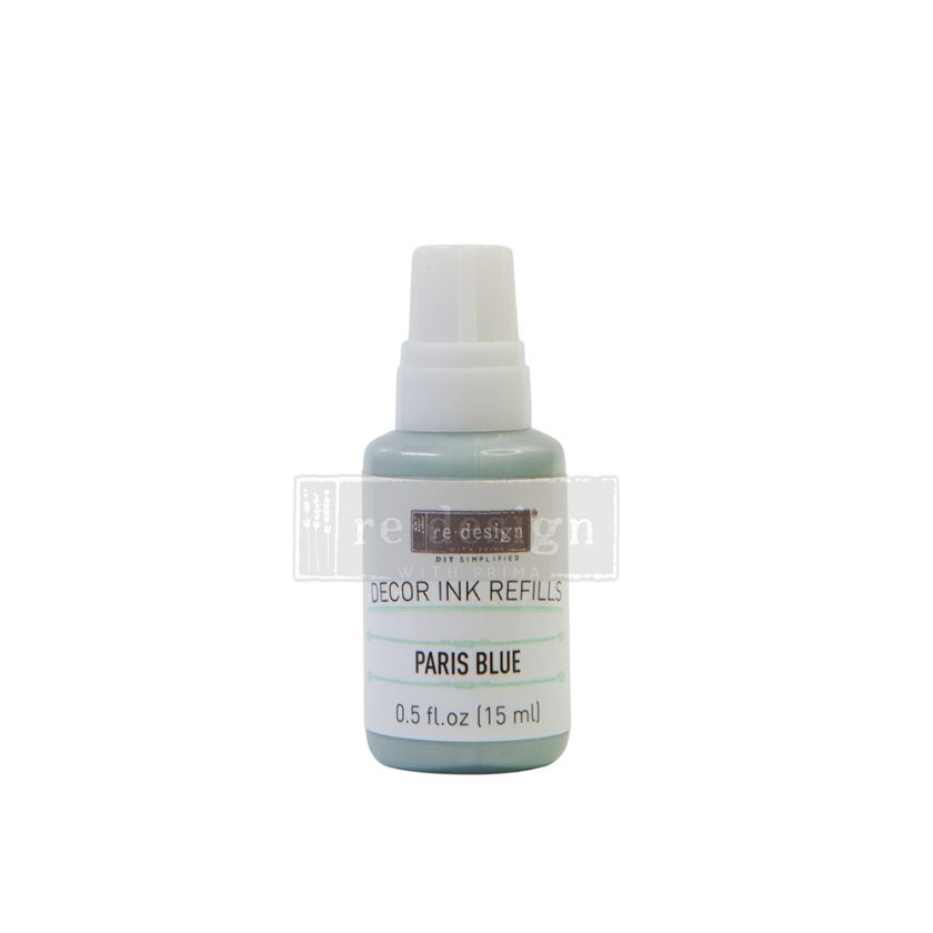 Decor Ink Refill - Paris Blue - 1 bottle, 15ml